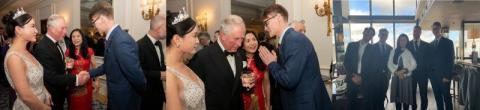 "PSEX's Co-founder Leo met Prince Charles in UK and was invited to attend the ""Investment for the Future"" Charity Dinner"