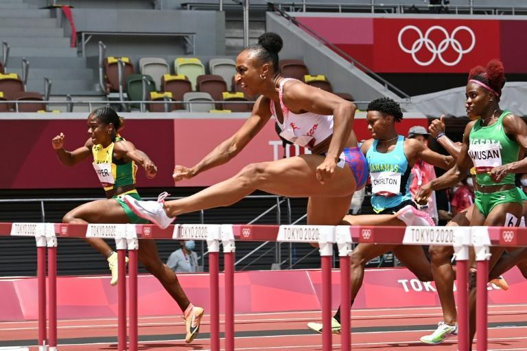 Puerto Rico's Jasmine Camacho-Quinn powers to gold in the 100m hurdles