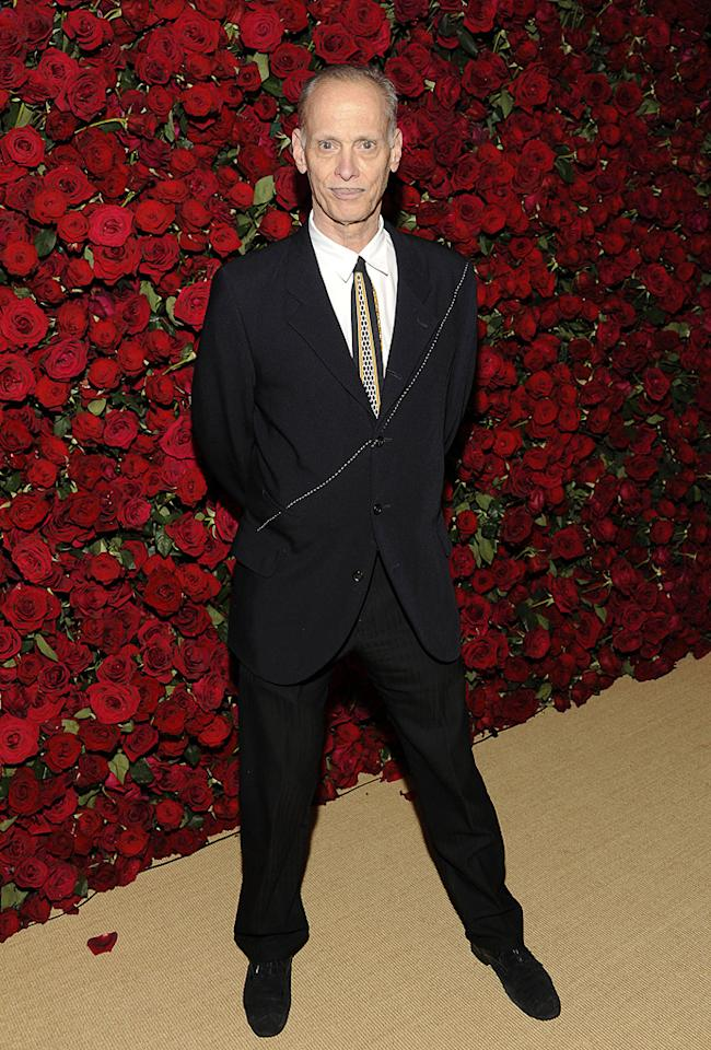 """<a href=""""http://movies.yahoo.com/movie/contributor/1800023933"""">John Waters</a> attends the Museum of Modern Art's 4th annual film benefit """"A Tribute to Pedro Almodovar"""" at the Museum of Modern Art on November 15, 2011 in New York City."""