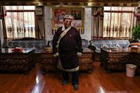 Dalong joined the Party in 1974 and served as a village committee secretary in the sensitive region of Tibet for three decades