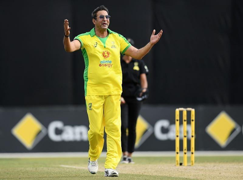 Wasim Akram was part of the LPL 2020 draft as mentor of the Galle Gladiators