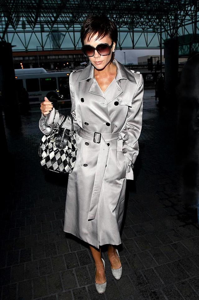 """If Posh and Becks do leave LA, Hollywood will lose one of its fashion icons. Clint Brewer/<a href=""""http://www.splashnewsonline.com"""" target=""""new"""">Splash News</a> - February 5, 2009"""