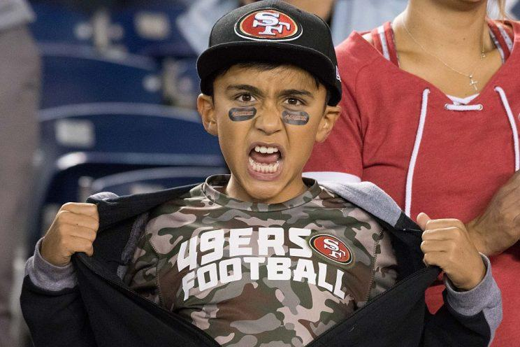 This young fan is psyched for a rebuild.