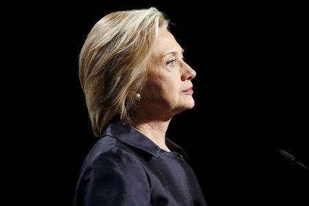 Democratic U.S. presidential candidate Hillary Clinton addresses the U.S. Conference of Mayors Annual Meeting in San Francisco
