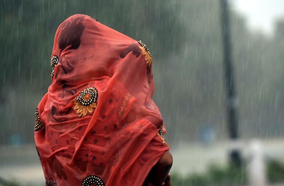 India's summer monsoon provides water for around a fifth of the world's population (AFP via Getty Images)