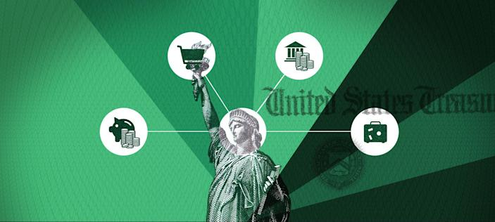 Medical bills, food, investing and mortgages: How Americans are spending their tax refunds, stimulus