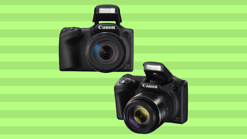 Save nearly 50 percent on the Canon PowerShot SX420 and get a whole bunch of camera accessories! (Photo: Walmart)