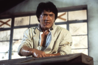 <p>Jackie Chan directed his first film in 1979, <em>The Fearless Hyena</em>, and followed it with numerous credits. In 1988, he both starred in and directed <em>Police Story 2, </em>which won for Best Action Choreography at the Hong Kong Film Awards.</p>