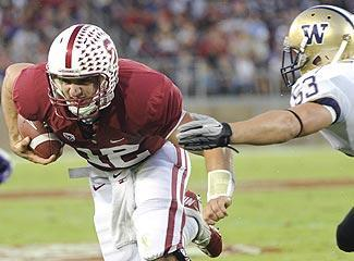 Stanford's Andrew Luck proved in college that he's hard to bring down, a quality that delights NFL scouts