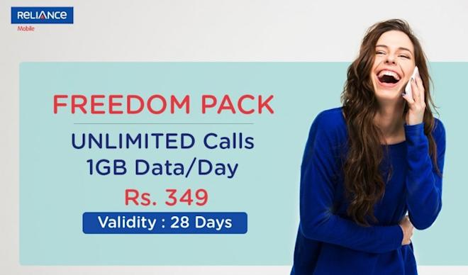 Reliance Communications' data tariff plan