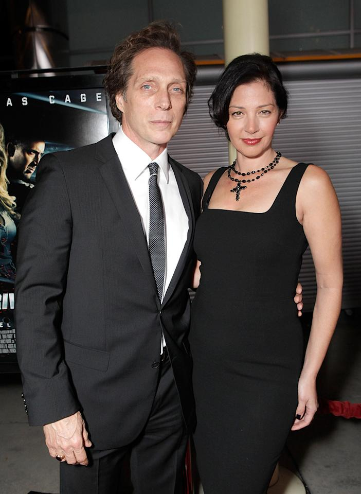 "<a href=""http://movies.yahoo.com/movie/contributor/1800022041"">William Fichtner</a> and guest attend the Los Angeles premiere of <a href=""http://movies.yahoo.com/movie/1810143371/info"">Drive Angry 3D</a> on February 22, 2011."