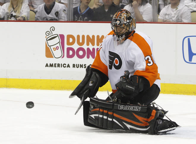<b>Ilya Bryzgalov</b><br> Yes, Mr. Universe himself is the fourth highest paid goaltender in the NHL thanks to a nine-year $51 million deal he signed with the Philadelphia Flyers in June of 2011. Annual salary: $6.5M