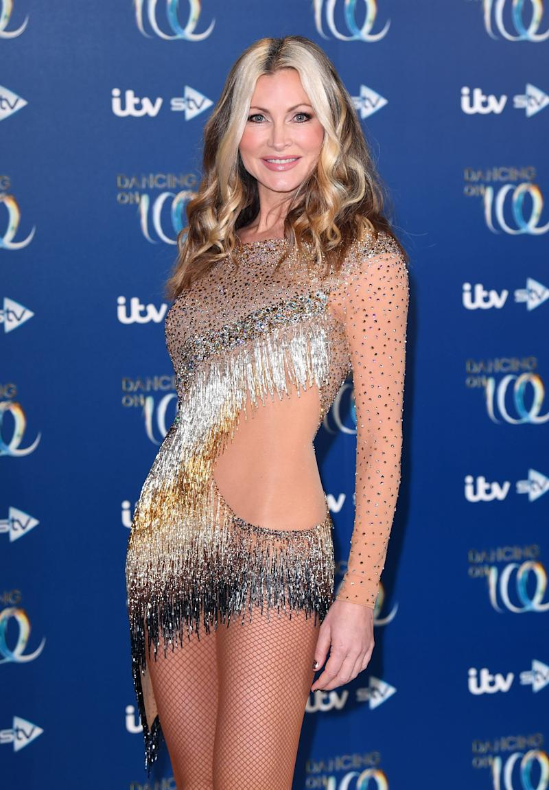 Caprice at this year's Dancing On Ice launch (Photo: Karwai Tang via Getty Images)