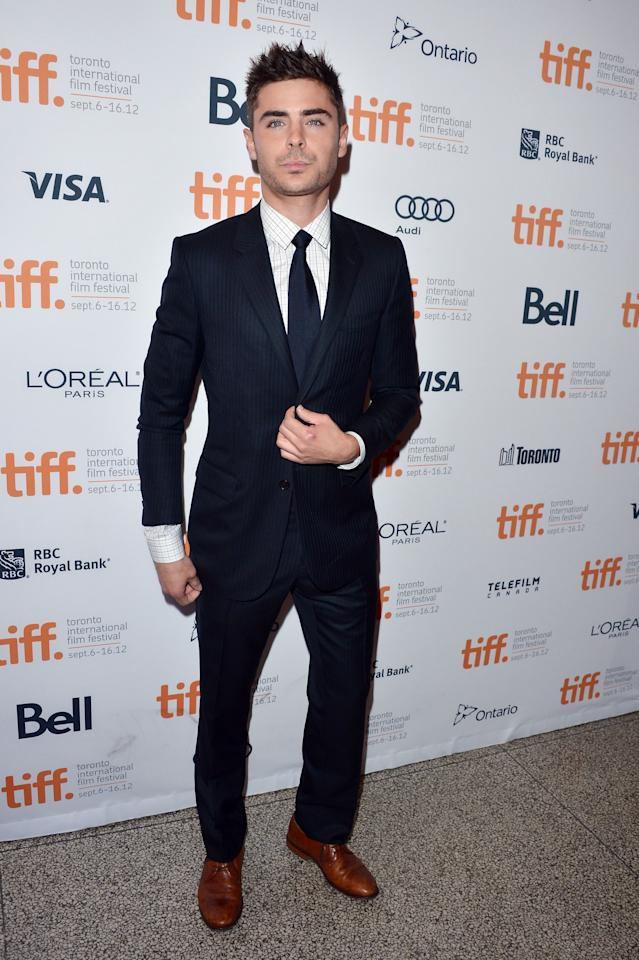 """BEST: Zac Efron came back to Toronto for his second TIFF 2012 appearance, this time at the premiere of """"The Paperboy."""" And, <a target=""""_blank"""" href=""""http://ca.movies.yahoo.com/photos/tiff-2012-best-and-worst-dressed-slideshow/zac-efron-photo-1347294549.html"""">once again</a>, Efron looks great in that suit -- we're not entirely sold on the brown shoes, but at least everything else is well-tailored and chic."""