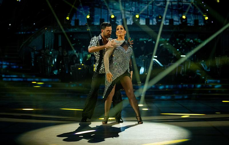 Spooky: Giovanni and Michelle will dance to the Addams Family theme (BBC / Guy Levy)