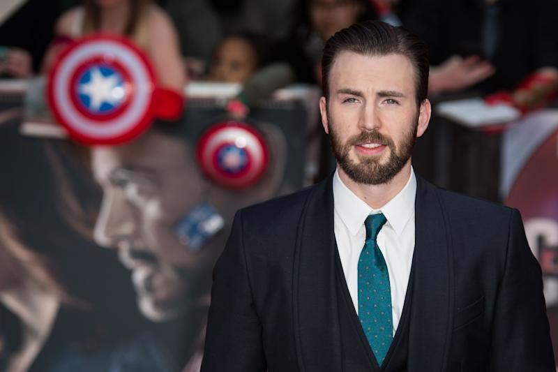 Actor Chris Evans poses for photographers upon arrival at the premiere of the film 'Captain America Civil War' in London, Tuesday, April 26, 2016. (Photo by Vianney Le Caer/Invision/AP)