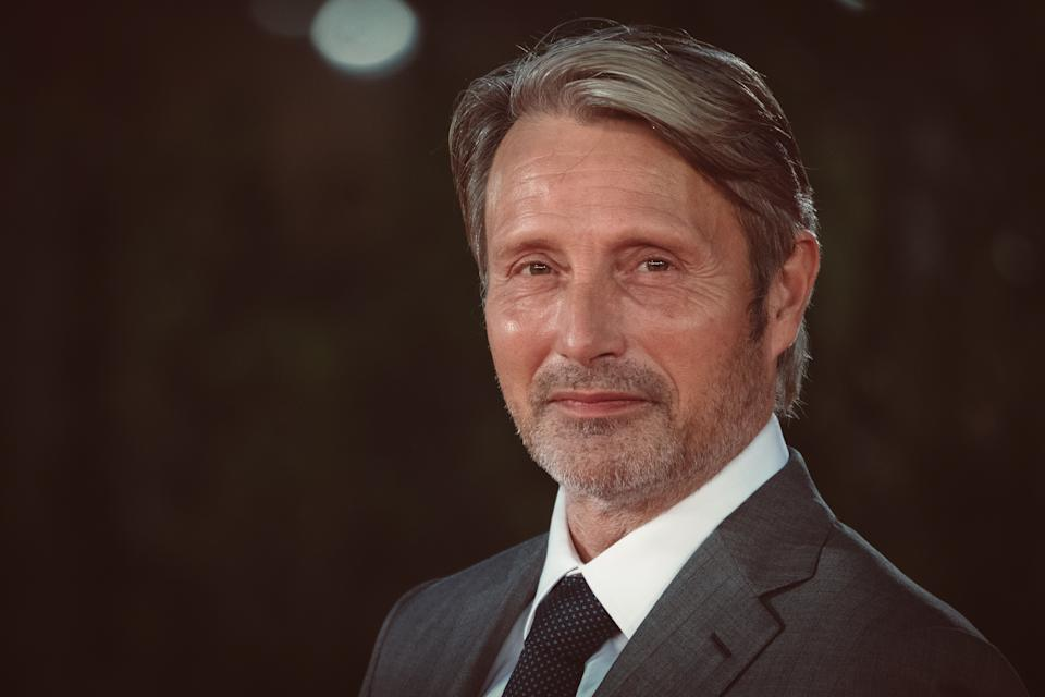 Mads Mikkelsen attends the red carpet of the movie ''Druk'' during the 15th Rome Film Festival on October 20, 2020 in Rome, Italy (Photo by Luca Carlino/NurPhoto via Getty Images)