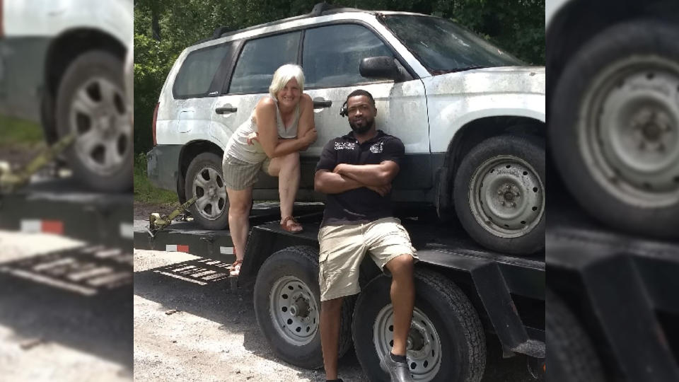Eliot Middleton fixes cars in need of repair for free and donates them to people in need. (Photo: Eliot Middleton)