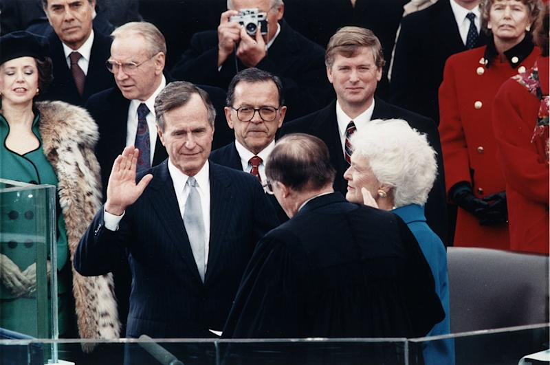 George H.W. Bush's Inauguration in 1989