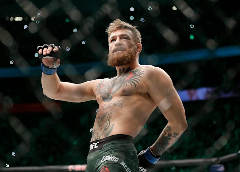 Conor McGregor appeared to announce on Twitter Wednesday that his alleged retirement is over.