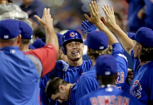 Cubs hit 3 homers, beat Braves 5-1
