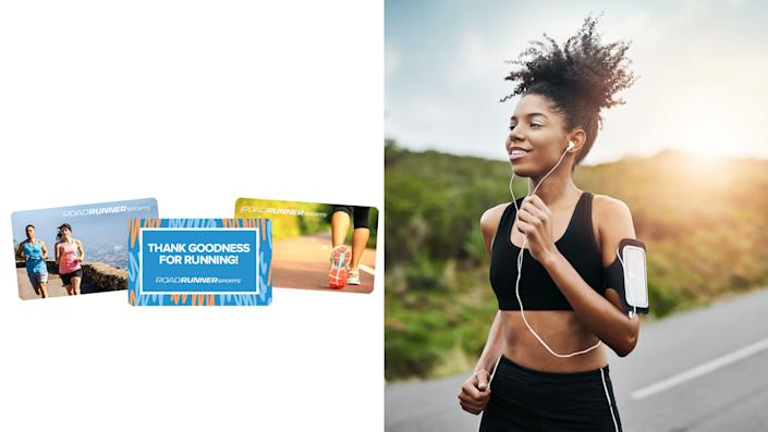 Best health and fitness gifts 2021: Road Runner Sports gift card