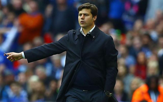 <span>Pochettino asked Tottenham's fans to trust him</span> <span>Credit: Rex Features </span>