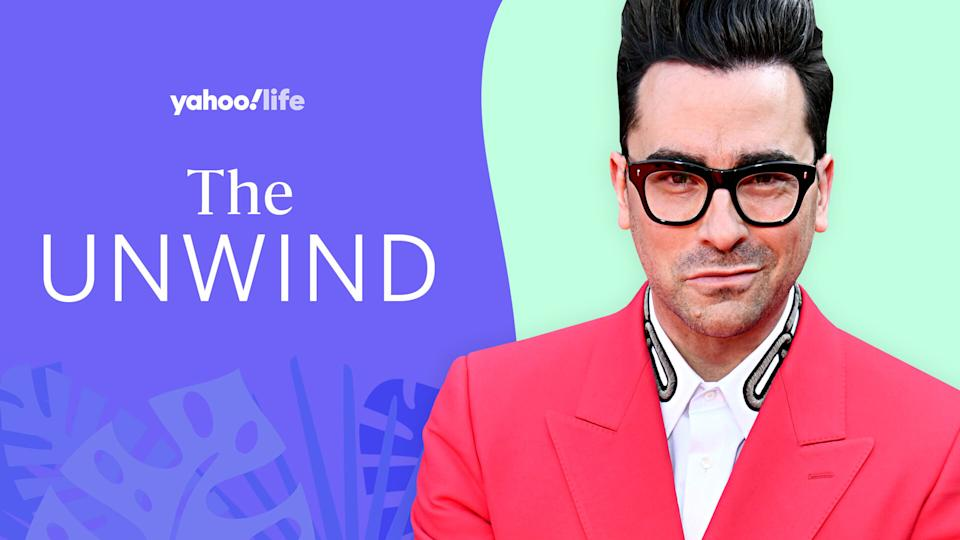 Dan Levy shares his approach to self-care. (Photo: Getty; designed by Quinn Lemmers)