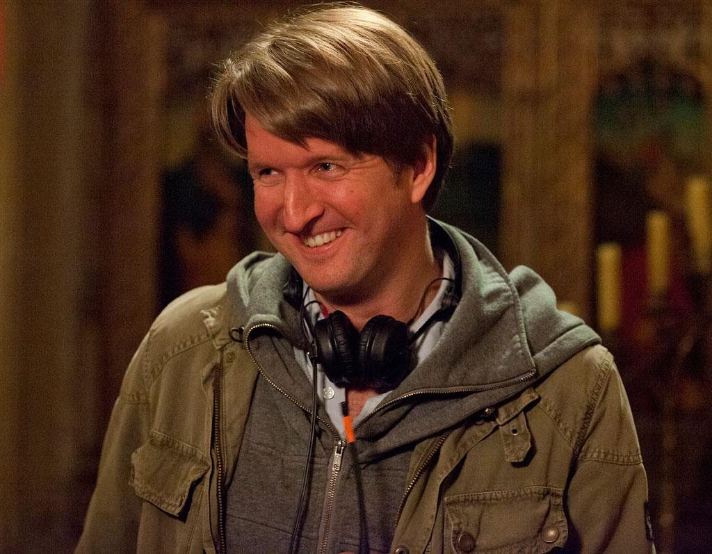 "Director Tom Hooper on the set of Universal Pictures' ""Les Miserables"" - 2012"