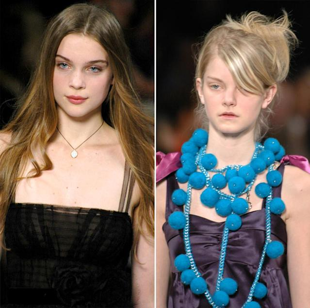 <p>These hair looks could not be more 2005. (Photo: Getty Images) </p>