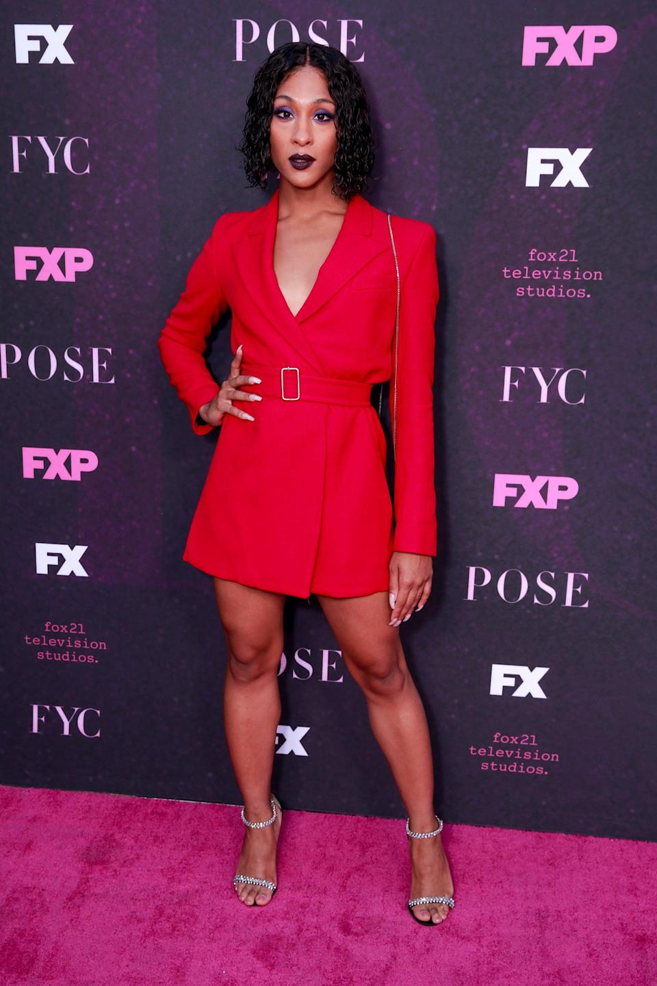 <p>It was all eyes on Mj at this 2019 red carpet event for <b>Pose</b> in West Hollywood, CA.</p>