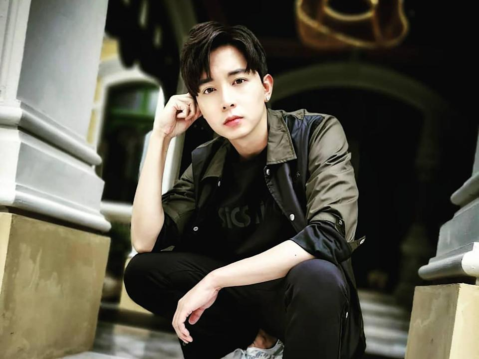 Aloysius Pang, 28, was taking part in Exercise Thunder Warrior, at the Waiouru Training Area in New Zealand when the injury occurred. (PHOTO: Facebook / NoonTalk.Aloysius)