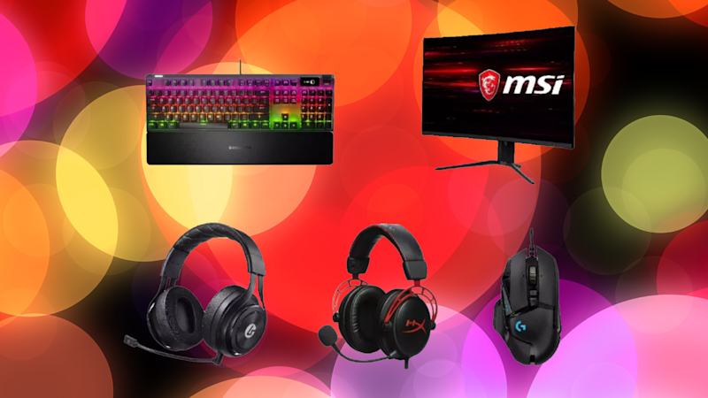 Save up to 20 percent on select PC gaming accessories. (Photo: GameStop)