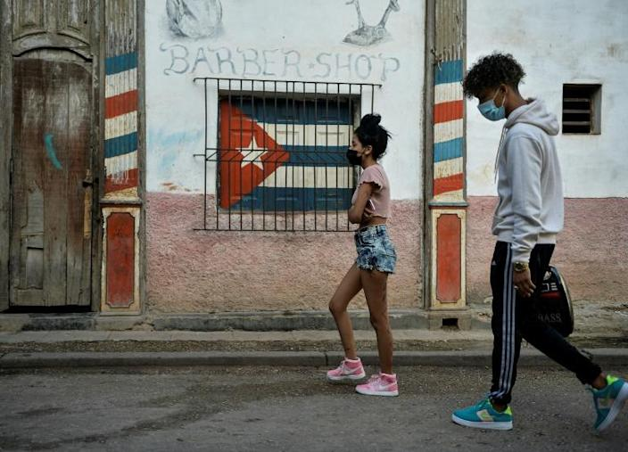 The Cuban government is used to having local musicians sing to its own tune