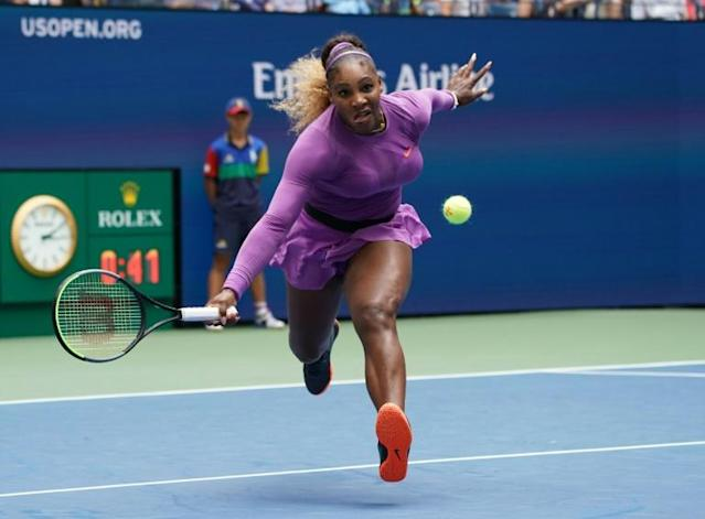 Serena Williams is seeking a first US Open title since 2014 (AFP Photo/TIMOTHY A. CLARY)