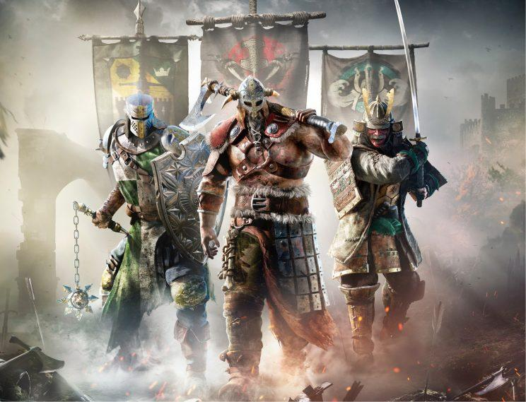 For Honor title screen.