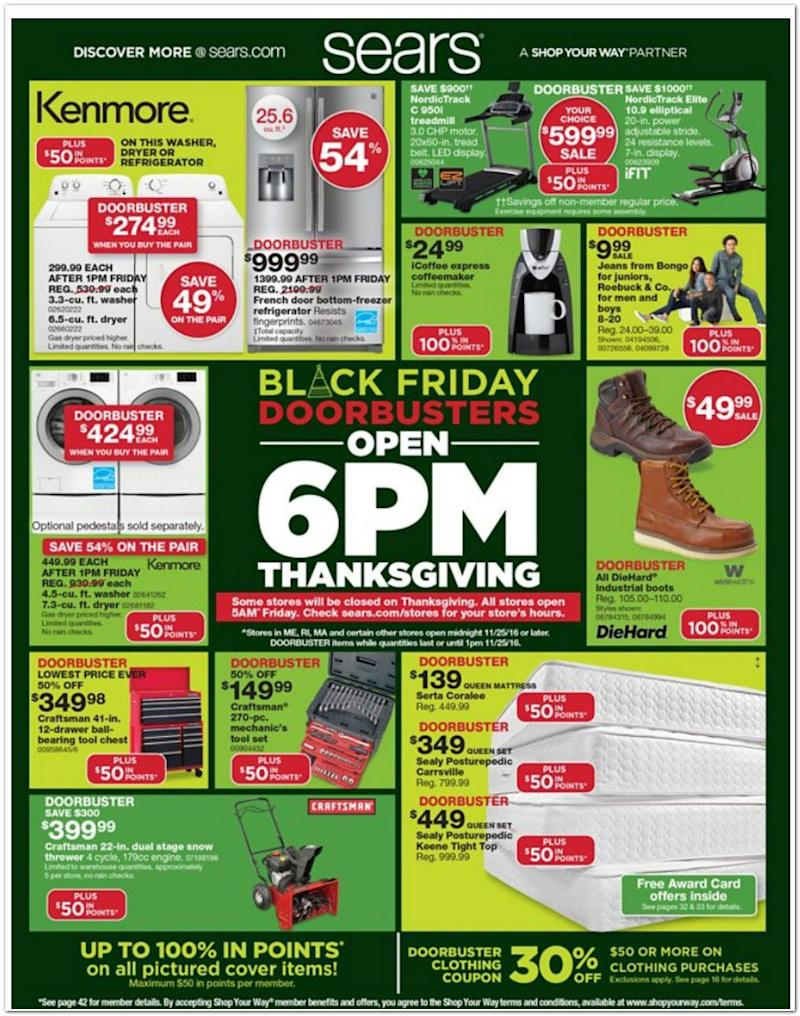 Sears leaked black friday ad shows amazon echo and 4k tv deals - 3 suisses black friday ...