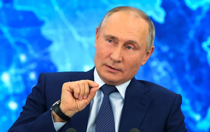 Russian President Vladimir Putin is in a politically perilous spot in his own country.