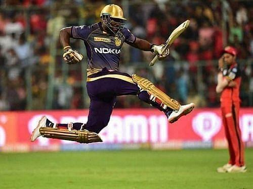 Andre Russell was in scintillating form for Kolkata Knight Riders in 2019
