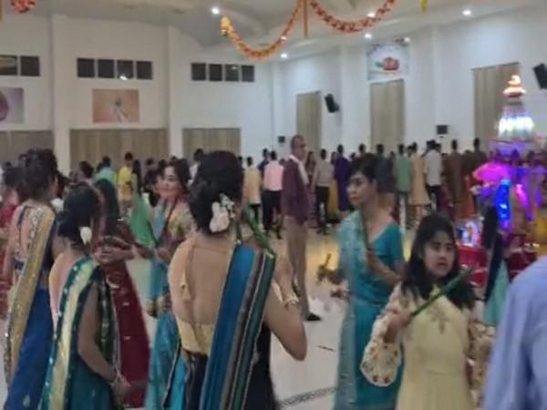 The Indian community in Madagascar during Navratri celebrations