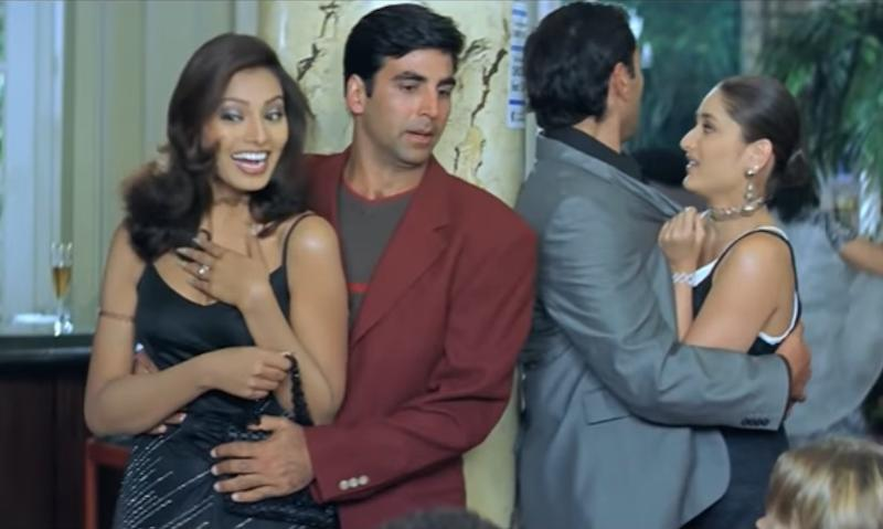 """Screengrab from """"Ajnabee"""""""