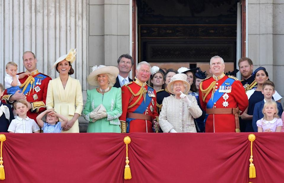 Which royal family members have made Yahoo UK's most searched for list? [Photo: Getty]