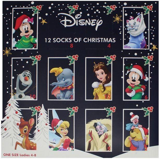 Disney's '12 Socks of Christmas' is available to buy now [Photo: Boots]