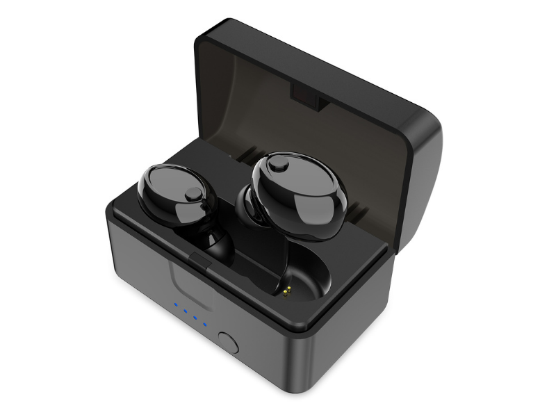 Cschidworld E7 Bluetooth Earbuds. (Photo: Walmart)