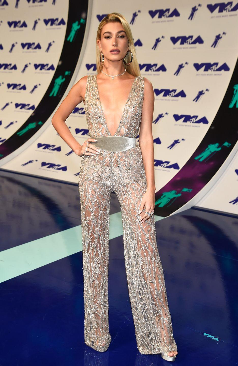 <p>Some things never change. And Hailey Baldwin serving us major looks at the VMAs in 2017 is one of those things. </p>