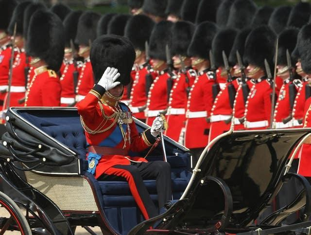 Colonel's Review of the Trooping the Colour Parade