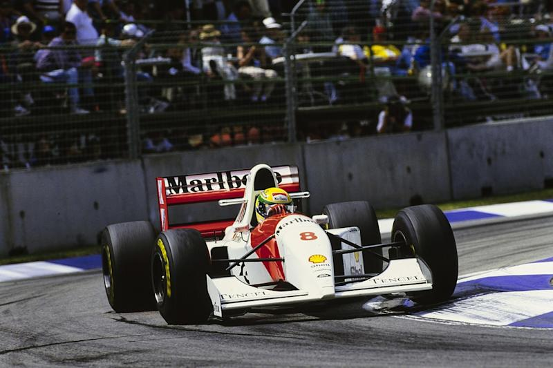 The F1 moments that defined the 1990s
