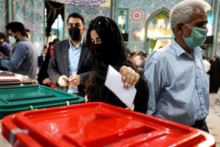 Turnout reached 48.8 percent in Friday's election, a record low for a presidential poll since Iran's 1979 revolution ousted the US-backed monarchy