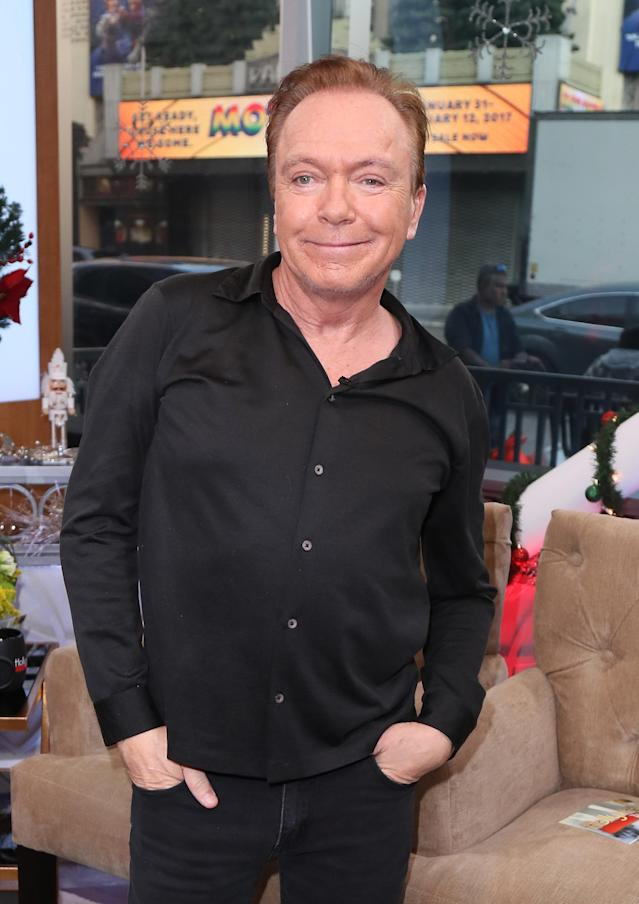 David Cassidy in 2016. (Photo by David Livingston/Getty Images)