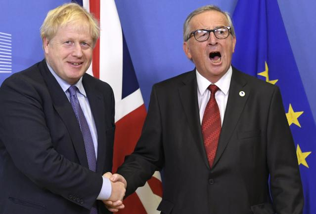 "Jean-Claude Juncker said Boris Johnson told ""so many lies"" before the Brexit referendum in 2016 (Picture: Getty)"